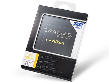 GRAMAS Extra Camera Glass(D850用)